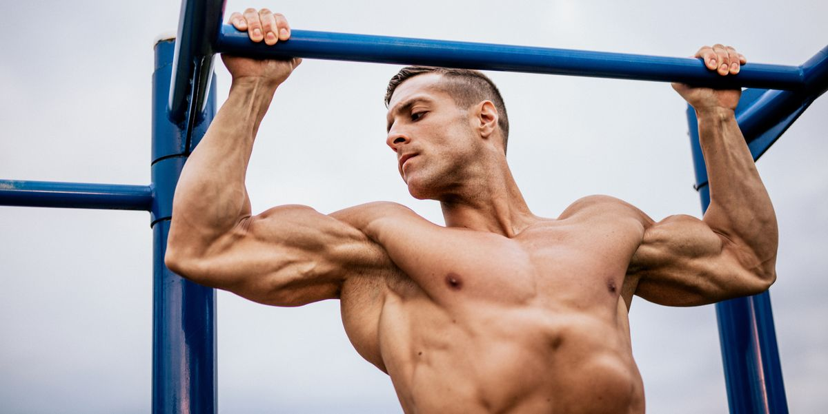 This Outdoor Workout Will Help You Get Jacked