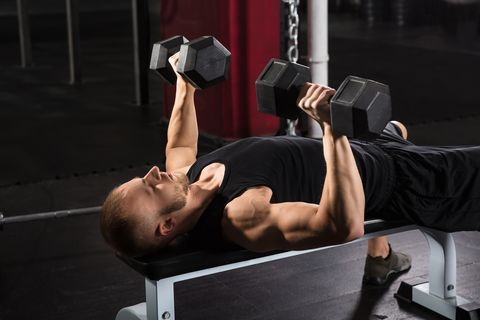 Push Yourself to Double Duty With This Chest and Back Workout