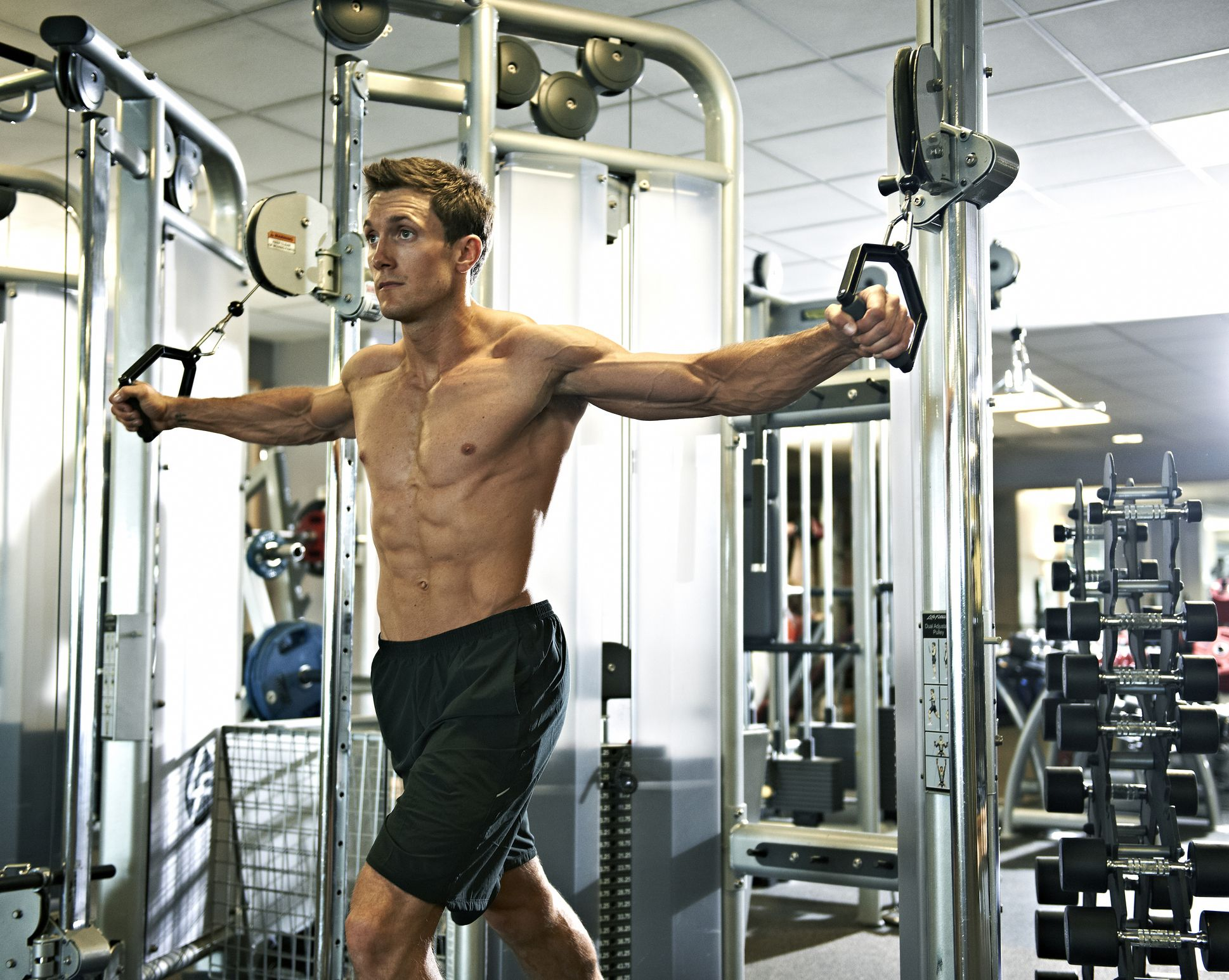 How to get bigger arms and chest fast at home