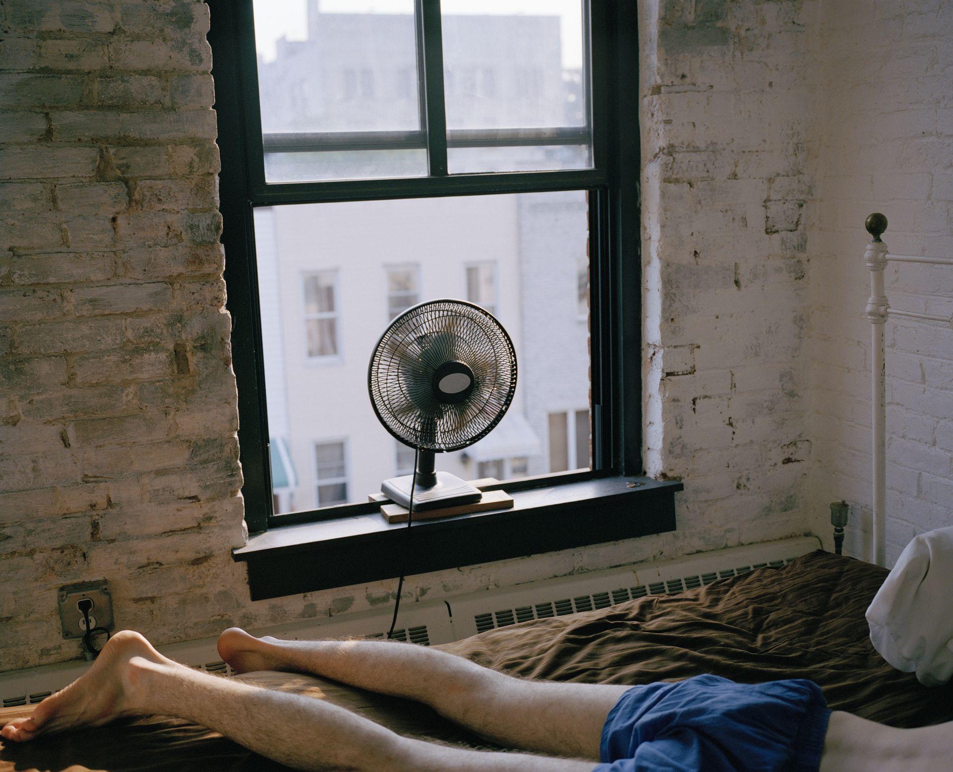 Es bueno dormir con el ventilador encendido Si corres, no