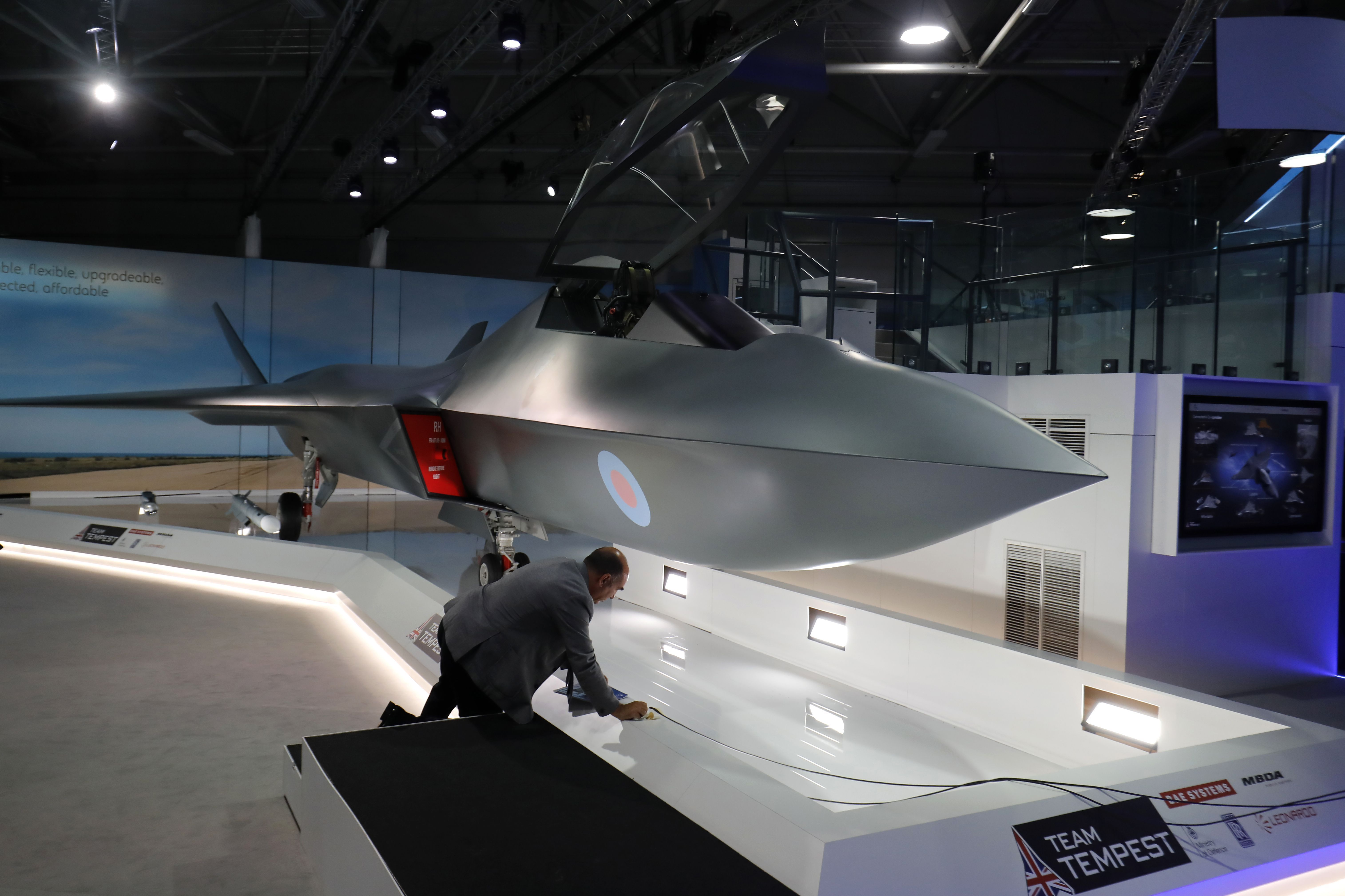 U.K. Introduces New Fighter Jet: The Tempest