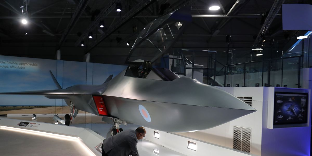 U K Introduces New Fighter Jet The Tempest