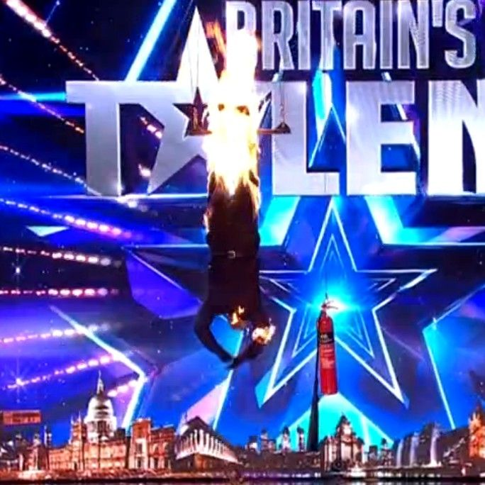 Is this the most daring act to ever appear on Britain's Got Talent?