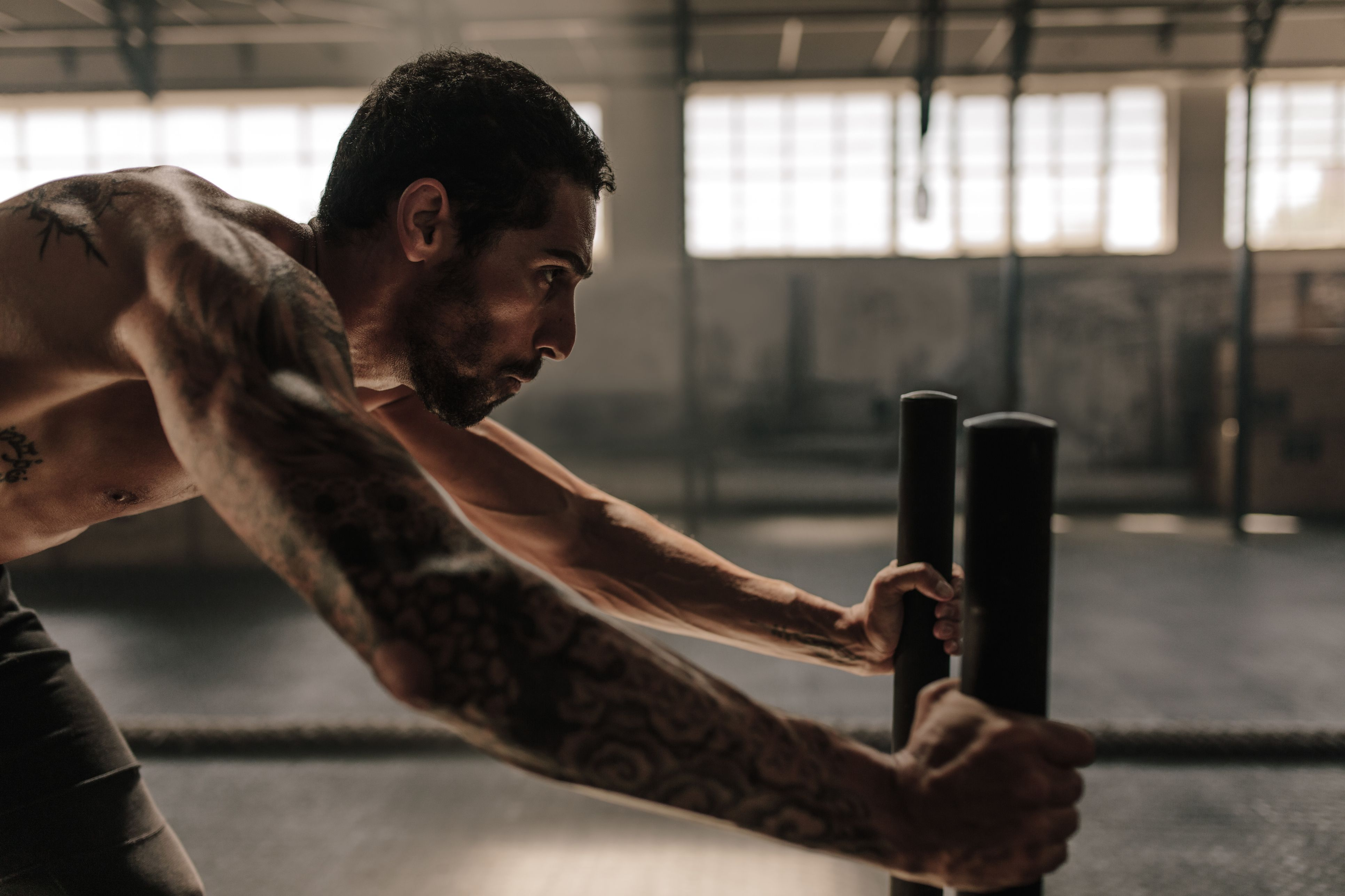 Burn fat, build muscle
