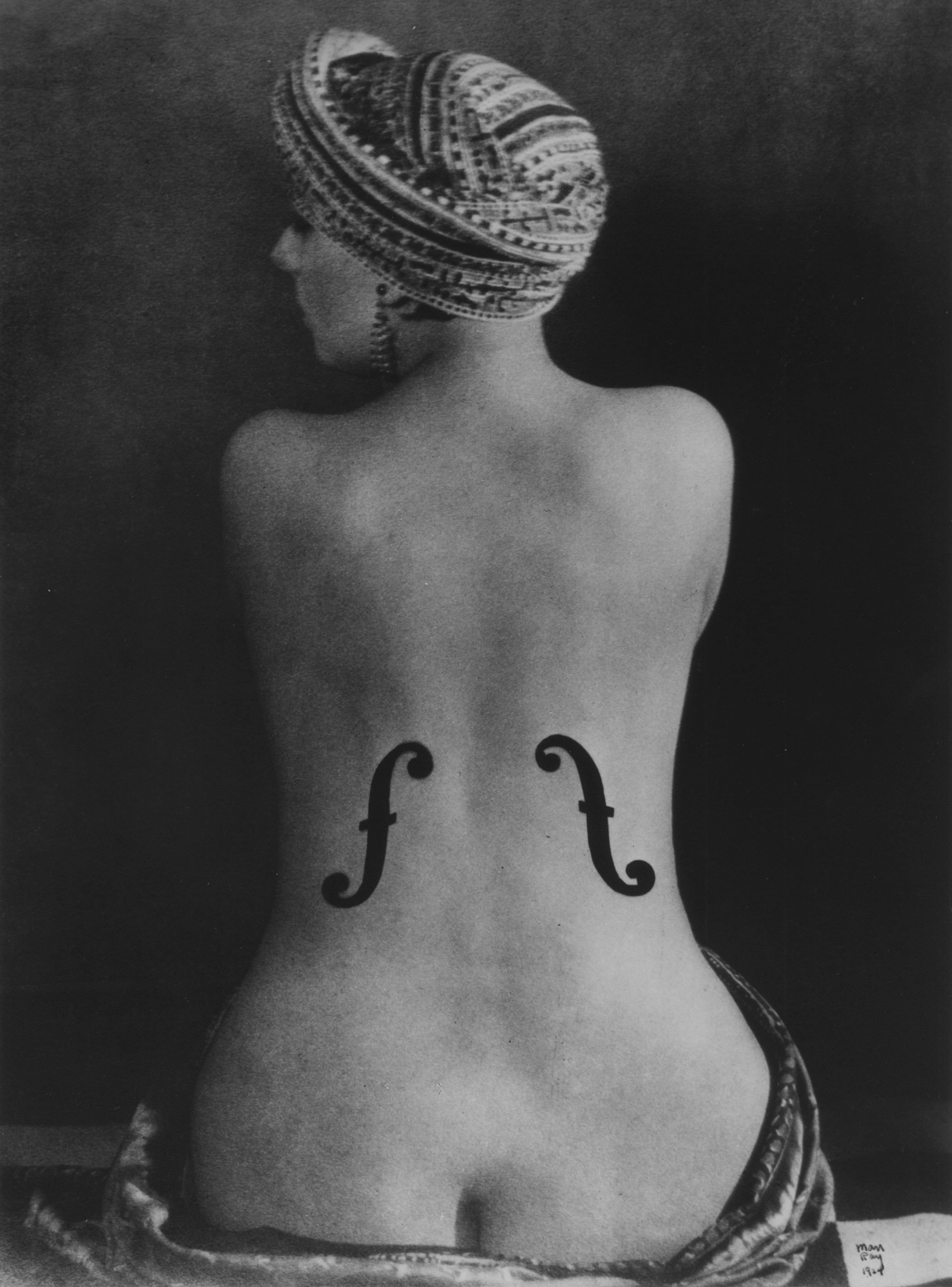 Man Ray, Violon d'Ingres,