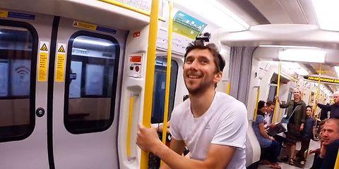 Running a train video