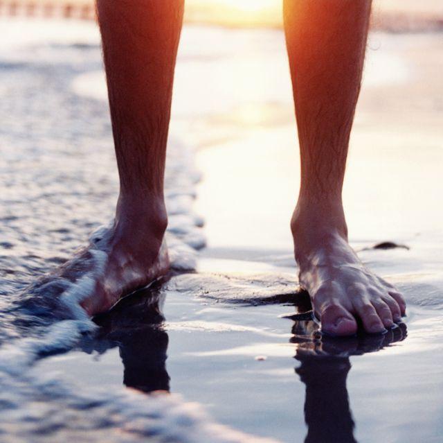 pies de hombres