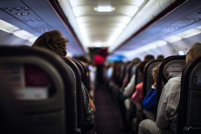 Man dies from tissue necrosis airplane