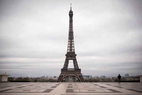 巴黎鐵塔TOPSHOT-FRANCE-HEALTH-VIRUS
