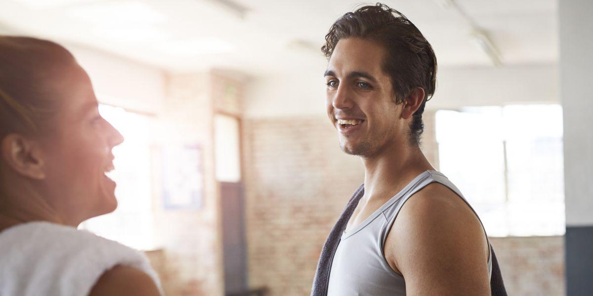 Flirten sportschool