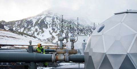 Iceland, known for its green energy, is working toward carbon neutrality