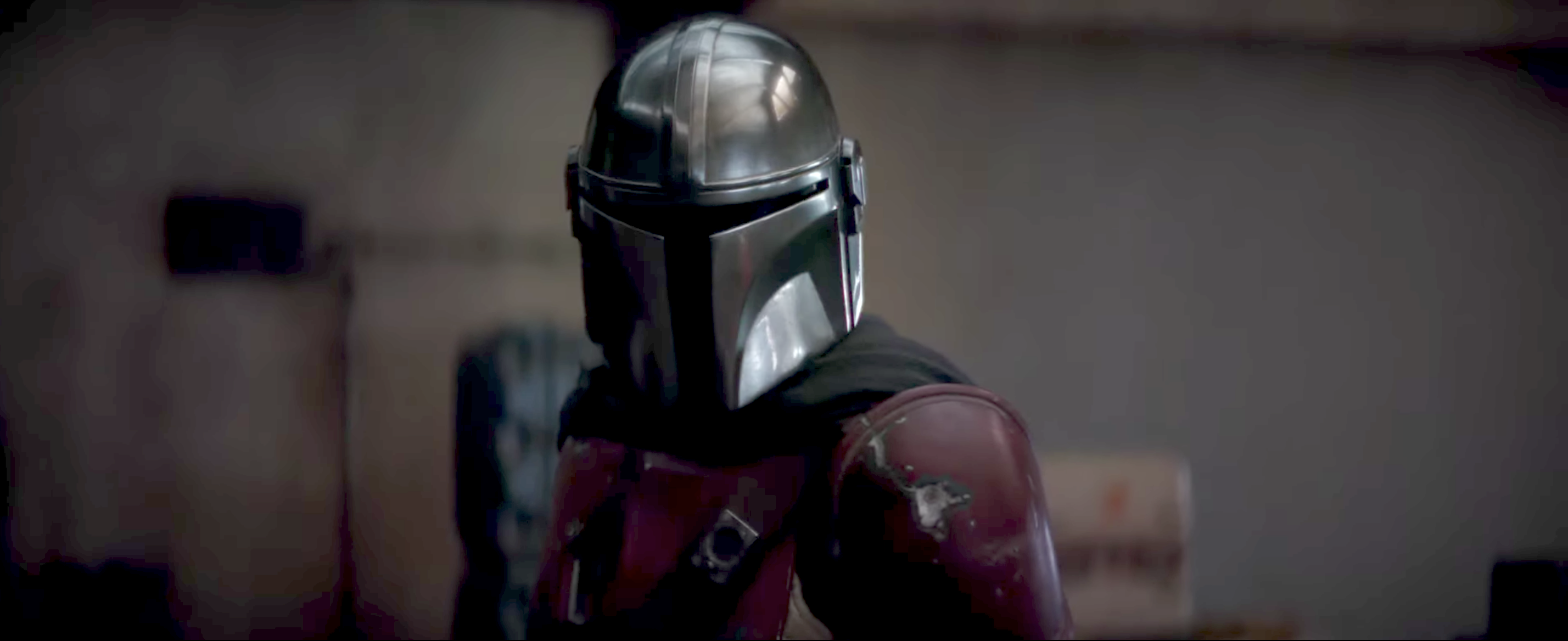 Boba Fett just made (another?) appearance on The Mandalorian – we think