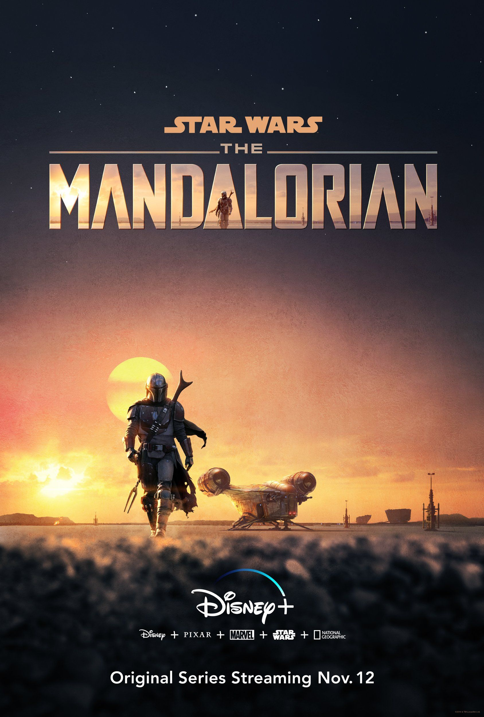 Star Wars unveils first-look trailer for live-action Mandalorian series