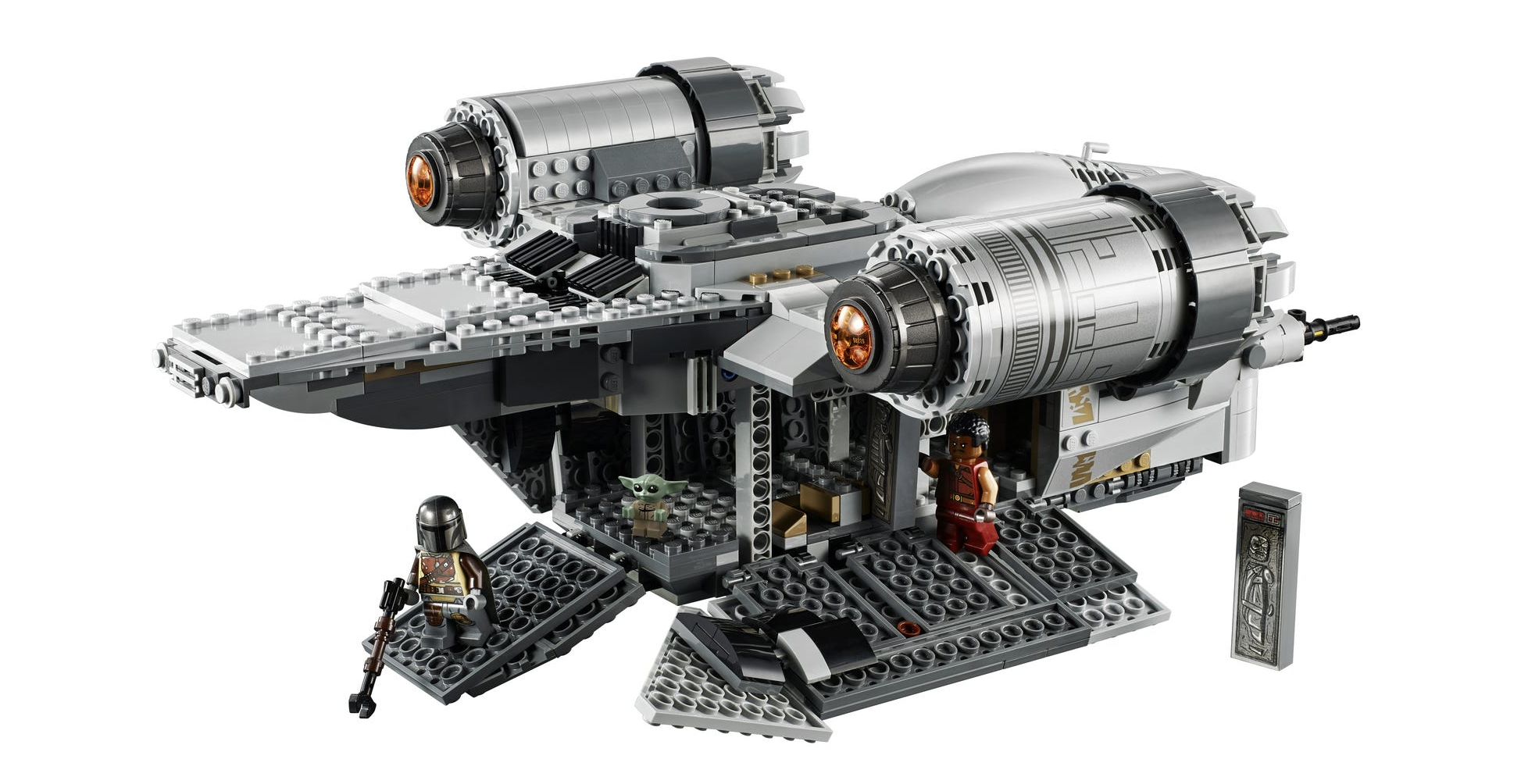 Star Wars Lego Version Of The Mandalorian Ship How To Get It