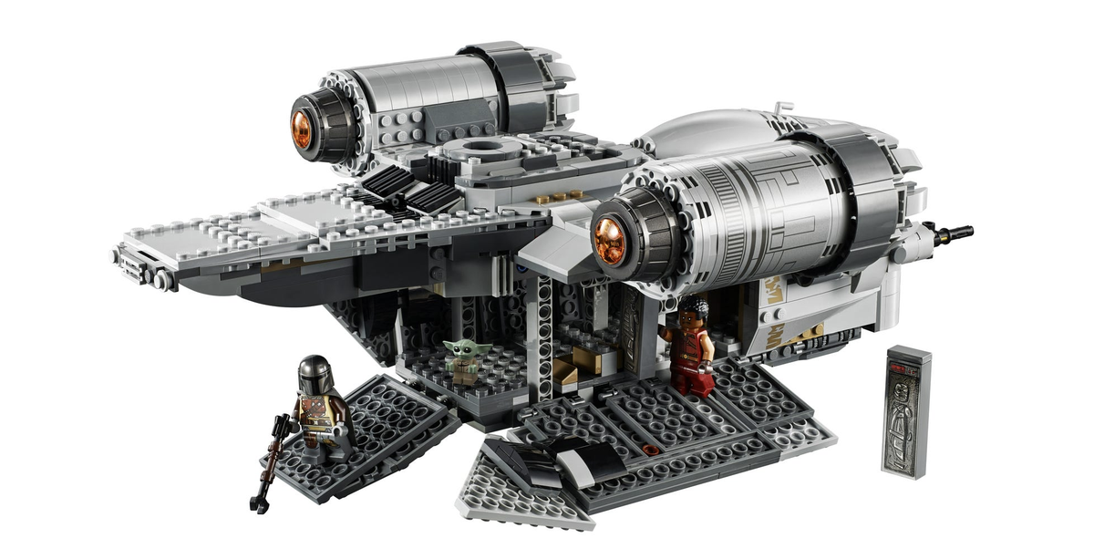 Star Wars is releasing LEGO version of The Mandalorian's awesome Razor Crest ship