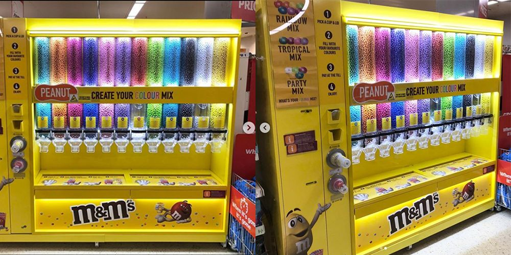 An M&Ms Pick 'N' Mix Station Has Been Spotted In Sainsbury's