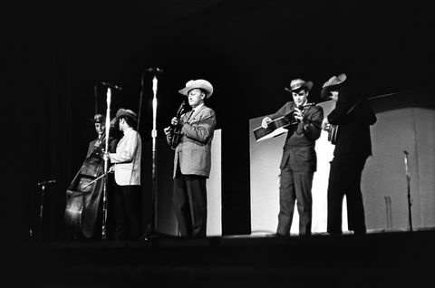 Bill Monroe At The New York Folk Festival