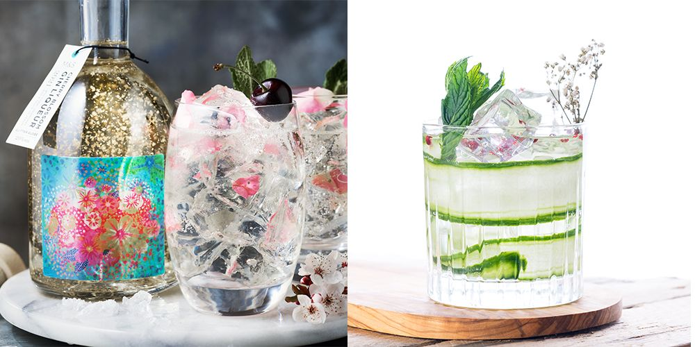 Marks And Spencer's Gin Glitter Globe Now Comes In Cherry Blossom Flavour