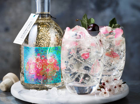 M&S's Cherry Blossom Gin Glitter Globe Is The Perfect Summer Tipple