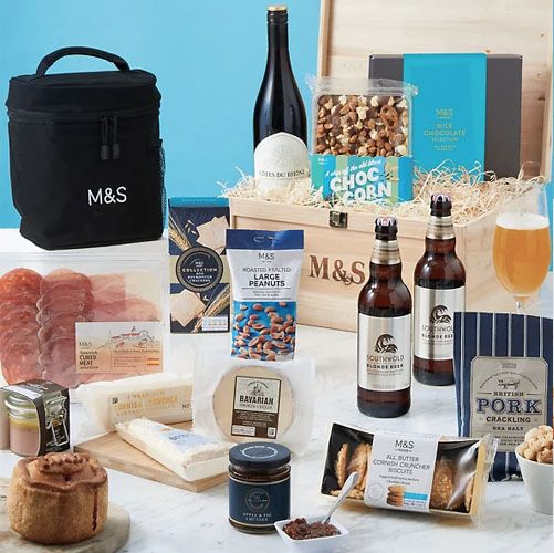 marks and spencer's father's day hampers