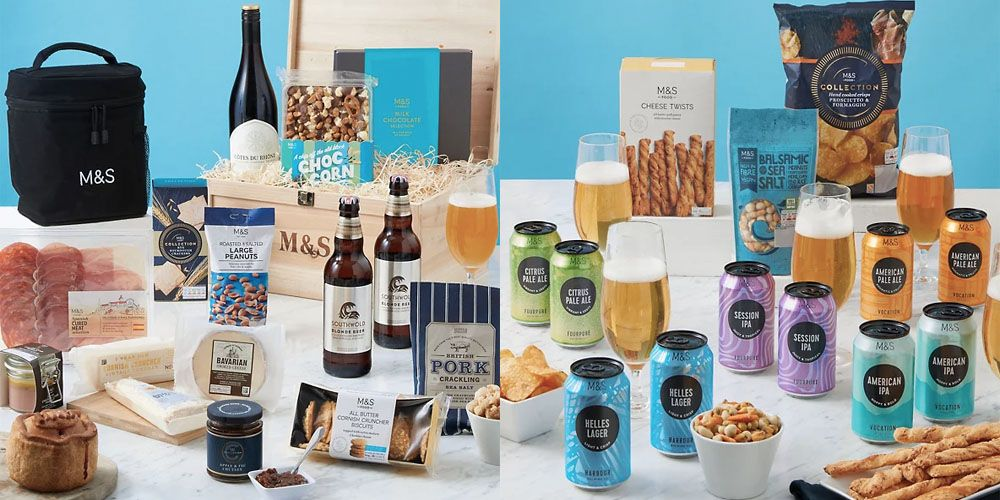Marks & Spencer's foodie Father's Day Hampers are perfect for last minute gifting!