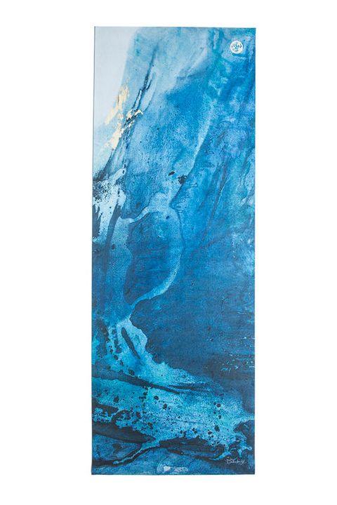Aqua, Turquoise, Modern art, Painting, Glacier, Teal, Glacial landform, Acrylic paint, Art, Geological phenomenon,