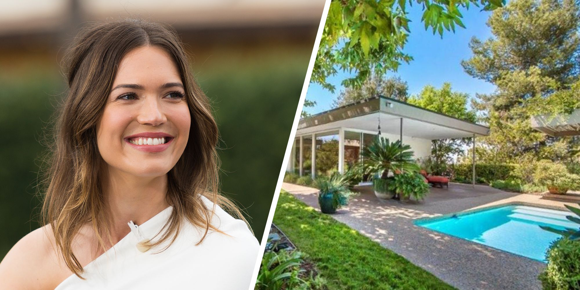 Mandy Moore S Mid Century Home Gets A Renovation Celebrity