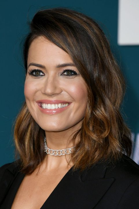 mandy moore ombre hairstyles