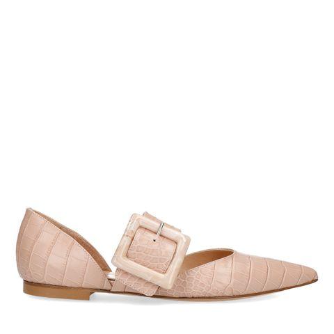 Footwear, Shoe, Beige, Mary jane, Tan, Pink, Leather, Sandal,