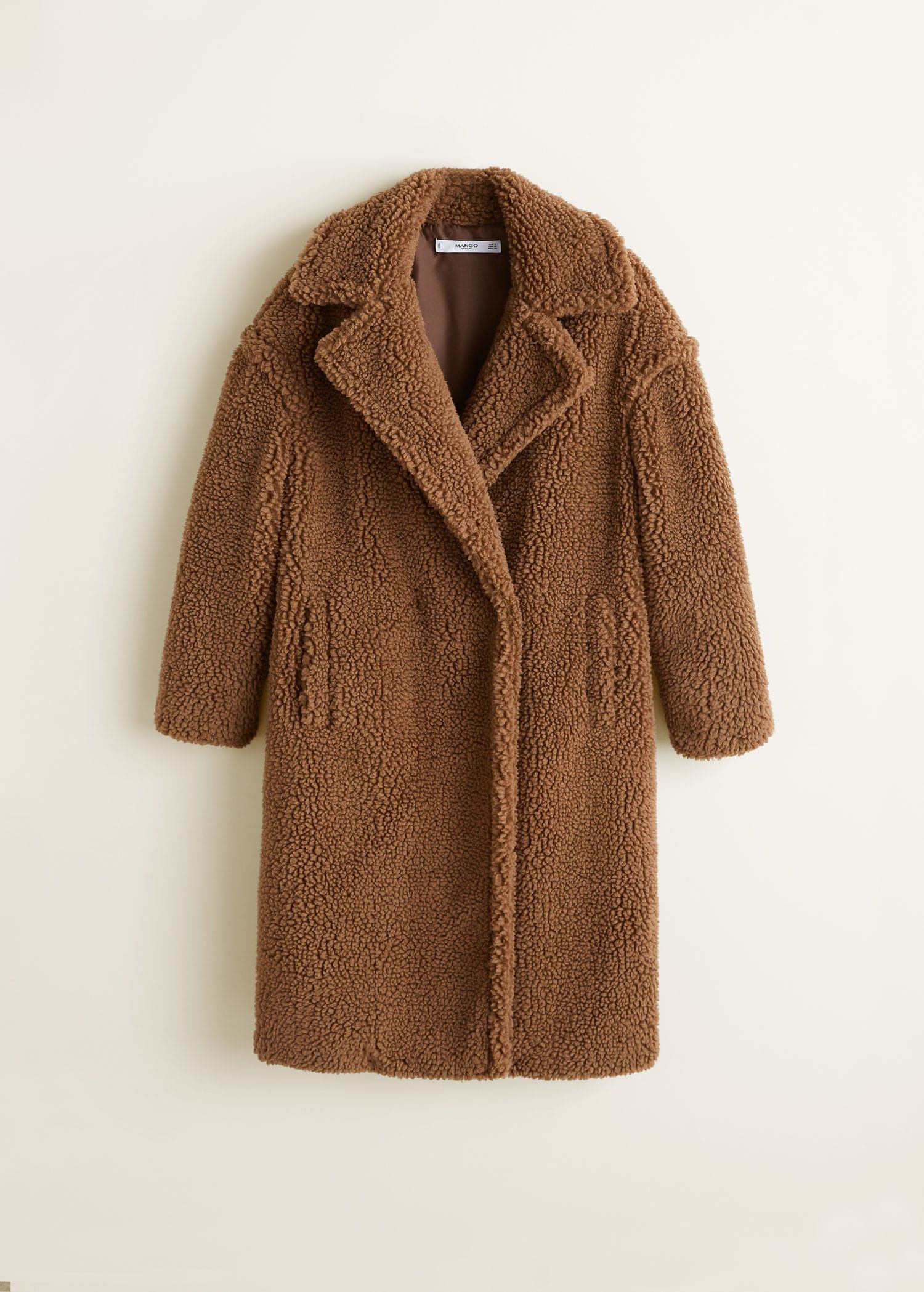 Estos 30 abrigos peluche te abrazarán en la ola de frío - Abrigos-peluche  para sobrevivir al frío 16525c877137