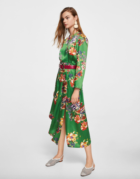lowest price e2c9d f15d5 Moda Primavera 2018: 7 vestiti lunghi a fiori sotto i 100 ...