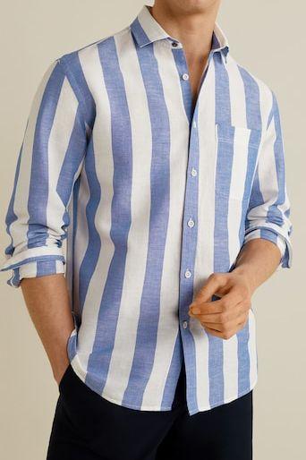camisa mango, camisa, cita, pantalon corto