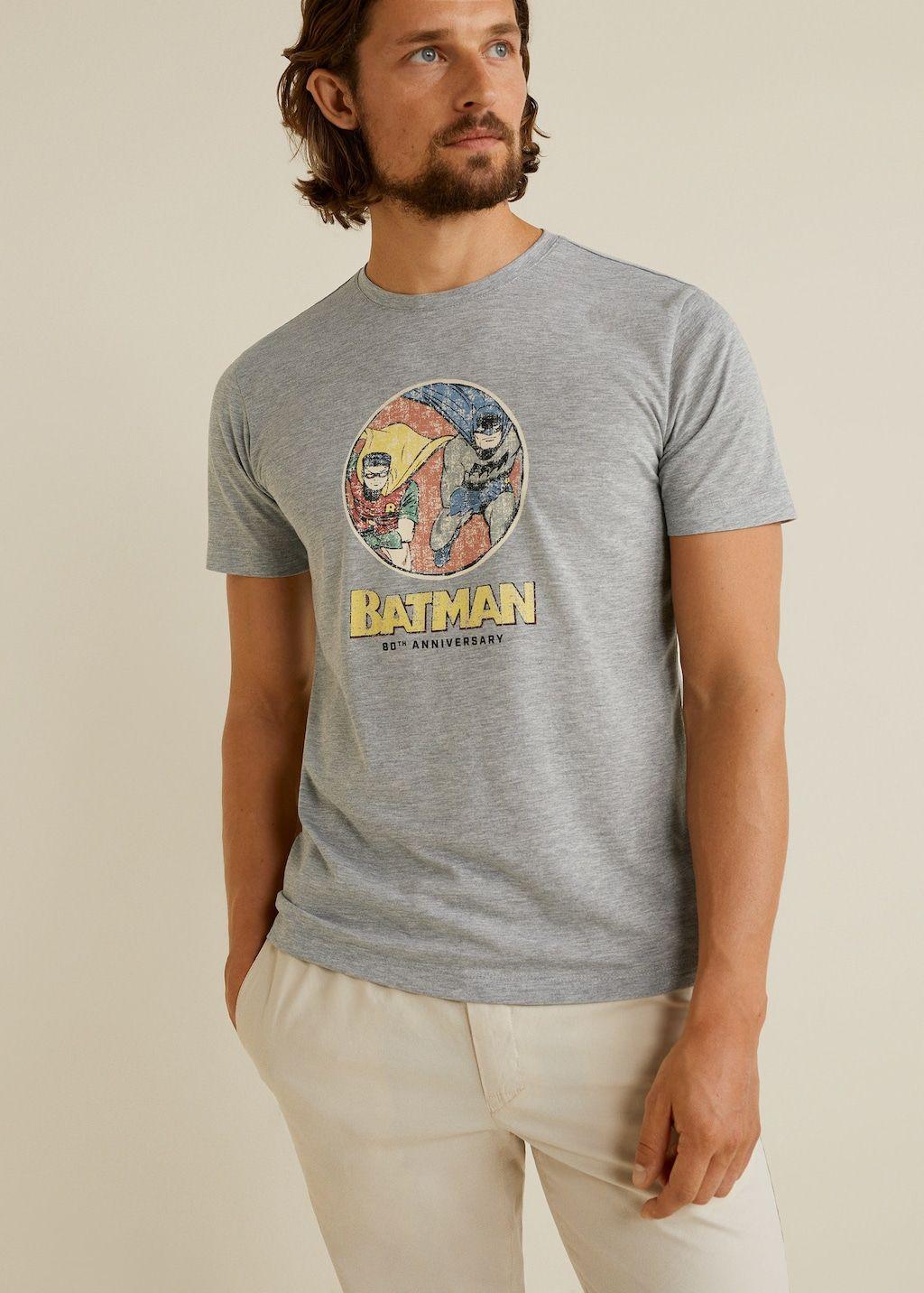 camisetas hombre mango