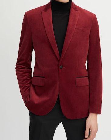 chaqueta terciopelo hombre mango, chaqueta mango