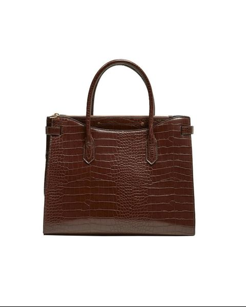 Handbag, Bag, Brown, Birkin bag, Leather, Fashion accessory, Tote bag, Tan, Kelly bag, Material property,