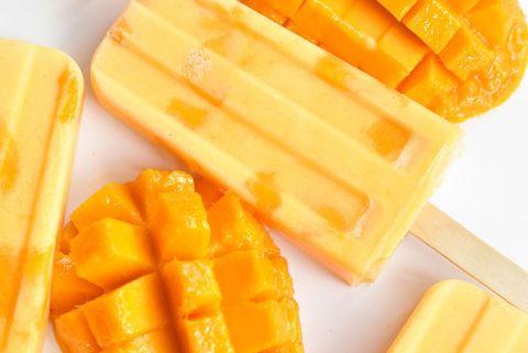 Mango ijs maken