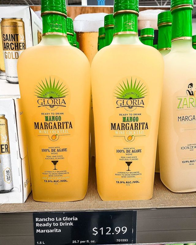 aldi mango margarita wine