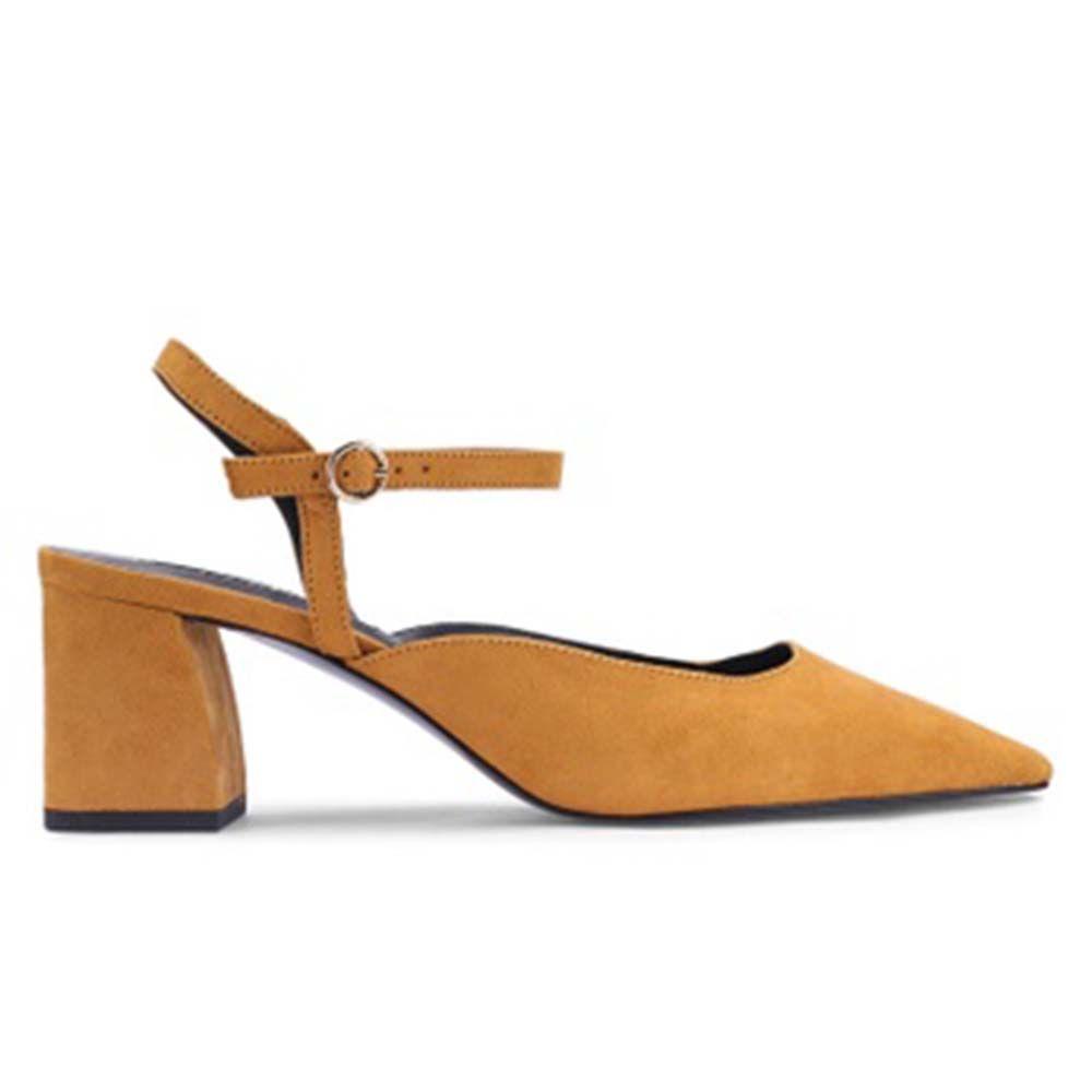 Mango Slingback Heel Shoes