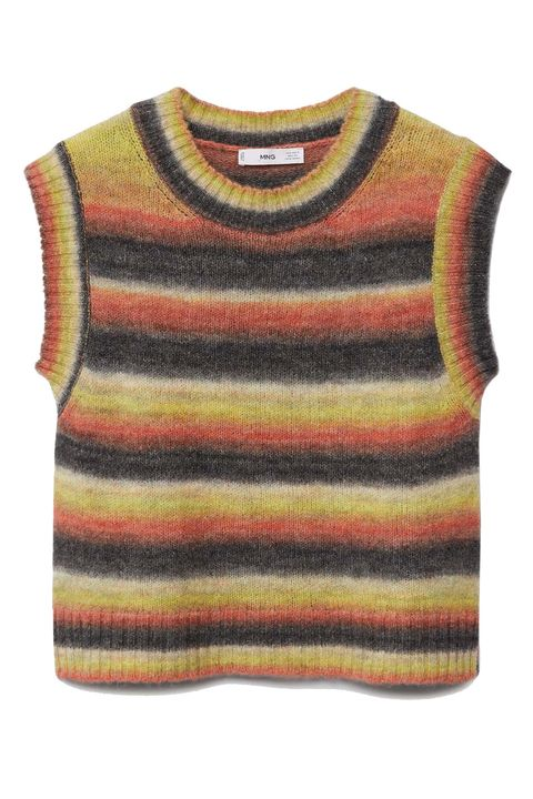 mango sweater vest