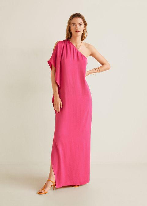 78063ee1a Atención al vestidazo de invitada de boda perfecta de Mango por 60 €