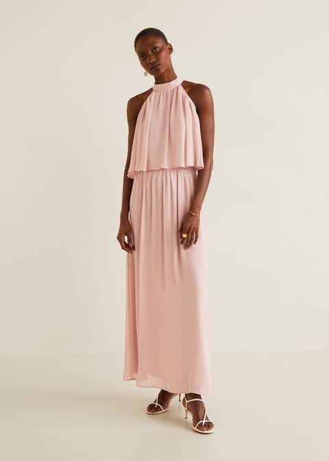 mejor elección profesional marcas reconocidas 9 vestidos rosas de Mango que van a enamorarte sea cual sea ...