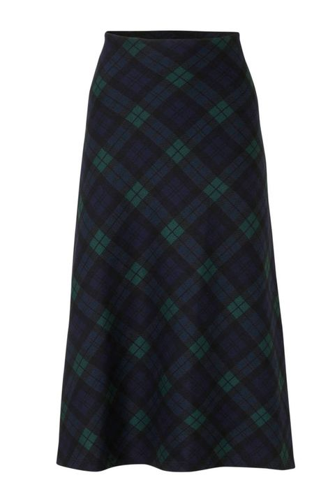 Clothing, Plaid, Tartan, Pattern, Green, Textile, Design, Kilt, A-line, Skort,