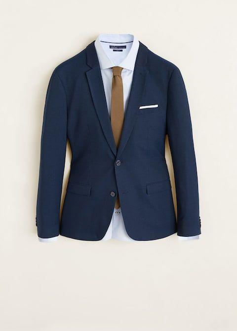americana chaqueta traje mango