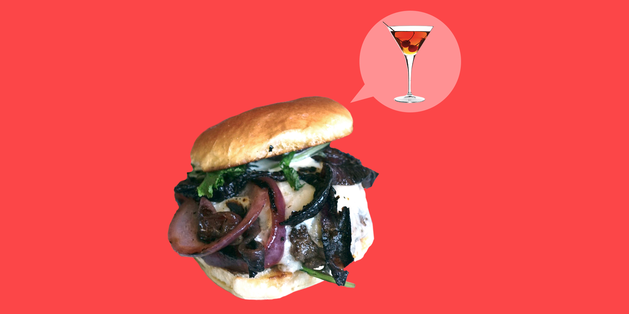 We Asked 8 Chefs to Turn Iconic Cocktails Into Burgers. It Worked.