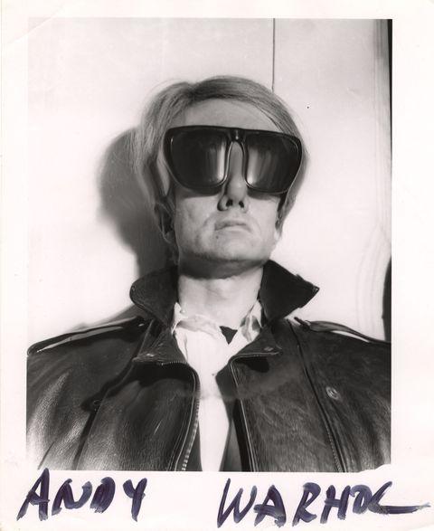 distorted andy warhol