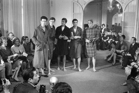 mode masculine pierre cardin en 1963
