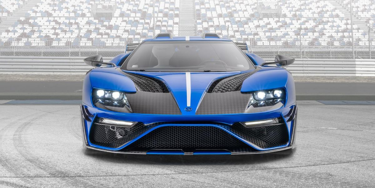 Mansory's Ford GT Has 700 HP, Looks Awful