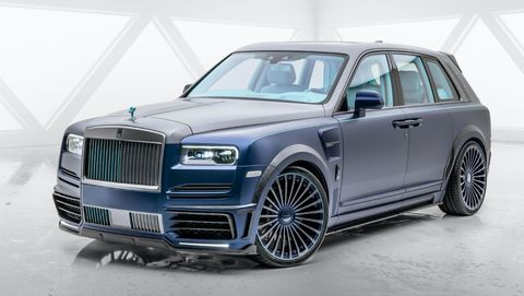 Rolls-Royce Cullinan Mansory