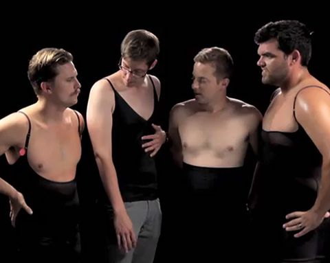 You HAVE to Watch These Guys Try on Spanx