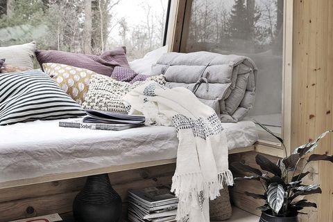 decorar con mantas
